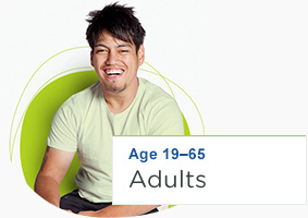 Age 19 - 65 Adults